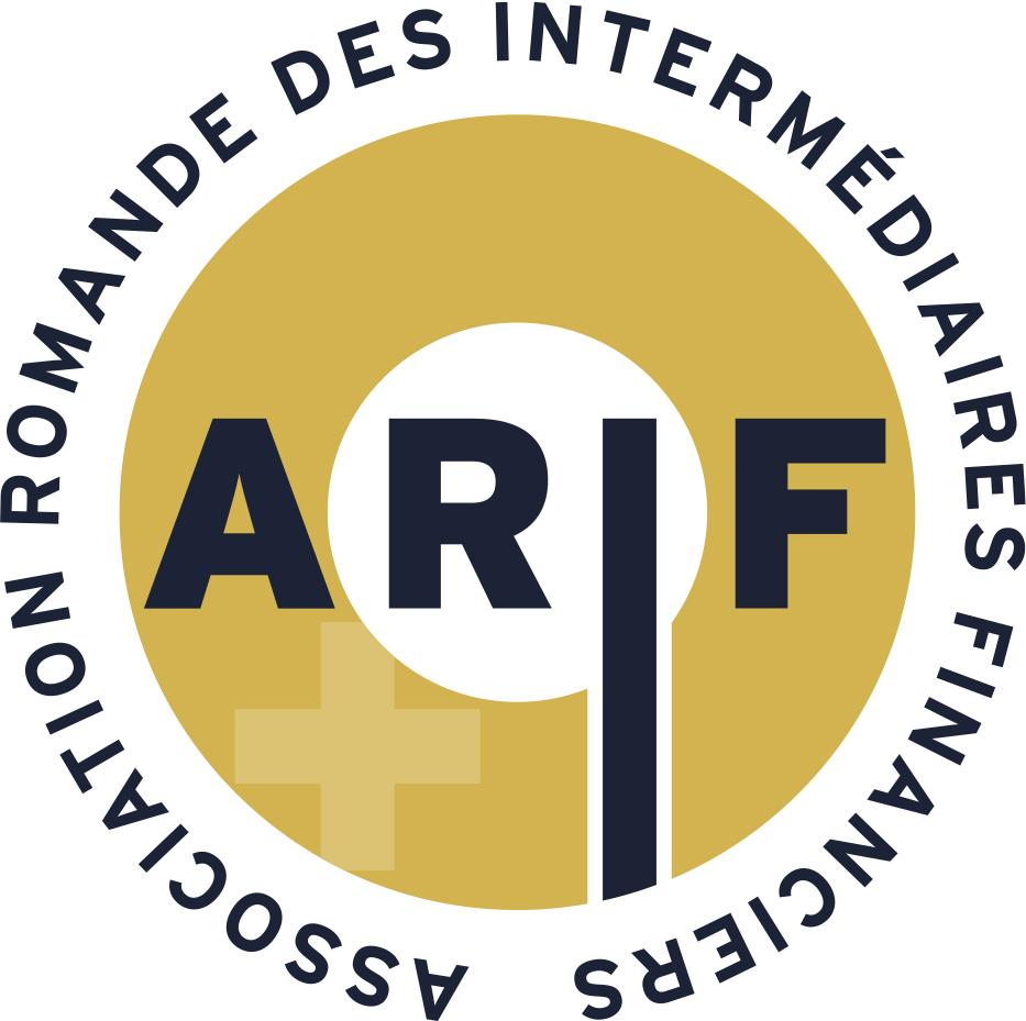 Logo partenaire ARIF Association Romande Des Intermédiaires Financiers